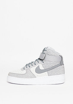 Air Force 1 Hi PRM Suede matte silver/clear grey