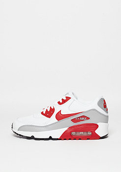 Schuh Air Max 90 Mesh (GS) white/university red/wolf grey