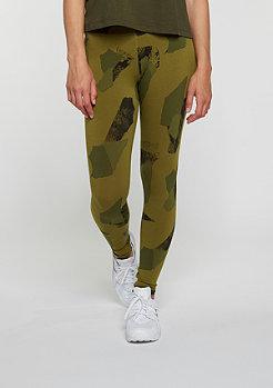 Leggings Leg-A-See Logo olive flak/black