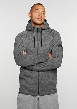 Hooded-Zipper Icon Fleece Full-Zip black/black