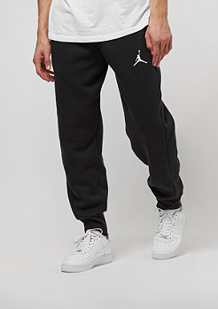 Trainingshose Flight Fleece Cuff black/white
