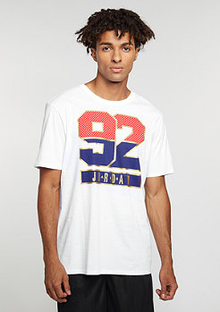 T-Shirt Air Jordan 7 92 white/deep royal blue