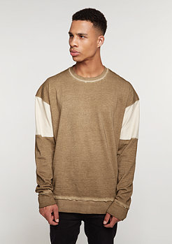 Sweatshirt Oversized Crew sand