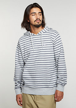 Hooded-Sweatshirt Fairway Stripe ash heather