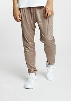 Trainingshose Velours Pants taupe