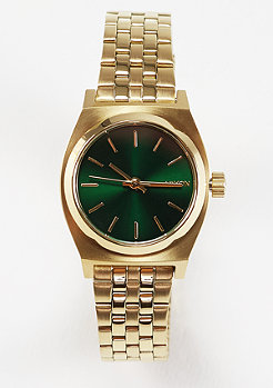 Small Time Teller gold/green sunray
