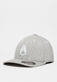 Baseball-Cap Deep Down FF Athletic Fit Hat heather grey/white