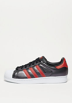 Laufschuh Superstar core black/collegiate red/collegiate red
