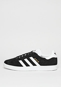Gazelle core black/white/gold metallic