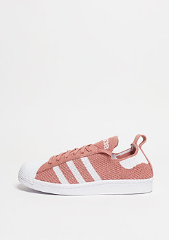 Superstar 80s Primeknit raw pink/white/raw pink