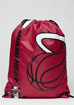 Cropped Logo NBA Miami Heat burgundy