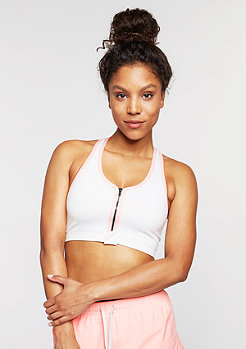 SNIPES Sports Zip Bra grey