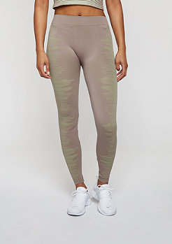 Leggings taupe/light green