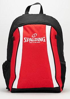 Backpack red/black/white