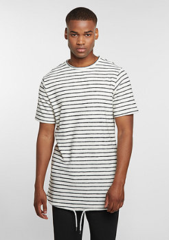 DRMTM Tee Striped black/white