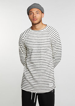 Longsleeve Striped black/white