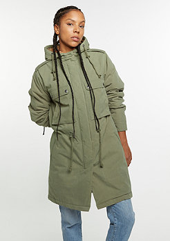 Winterjacke Army Parka light olive