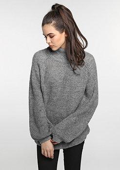 Sweatshirt Oversized Turleneck lightgrey