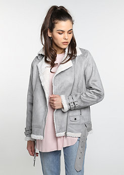 Aviator Jacket grey/offwhite
