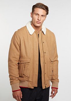 Winterjacke Wool Jacket beige