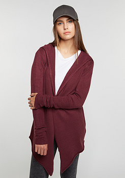 Flatbush Strickpullover Knit Cardigan bordeaux