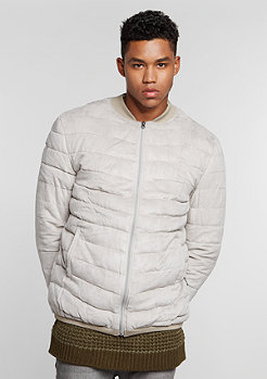 Quilted Blouson light grey