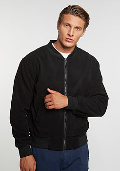 Übergangsjacke Fleece Blouson black
