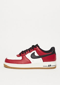 Air Force 1 gym red/black/gym light brown