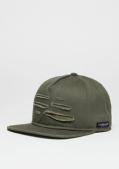 C&S CAP BL Ripped olive/woodland