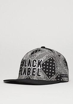 C&S CAP BL Bumrush black/white