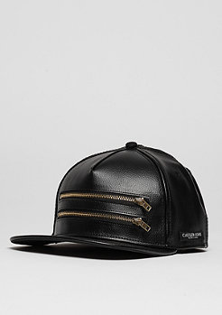 Snapback-Cap C&S CAP BL Zipped black/gold