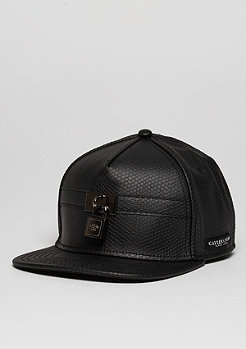 C&S CAP BL Lockdown black fishcale/red