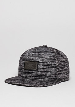 Snapback-Cap BL Plated black/grey knit