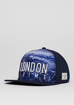 Snapback-Cap WL London Skyline navy/white