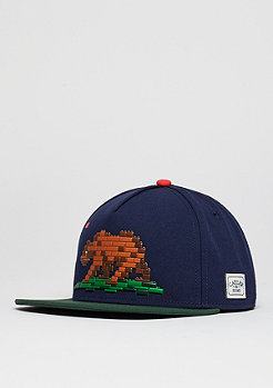 C&S CAP WL Cali Blocks navy/forest green/mc