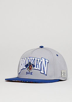 Snapback-Cap WL BK Socks grey/royal/mc