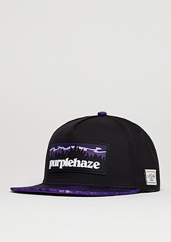 Snapback-Cap GL Purple Hills black/purple/white