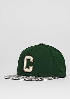 C&S Cap GLD Cee Benjamins forest green/mc