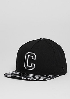 C&S Cap GLD Cee Flagged black/white