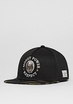 C&S Cap WL Money Power Respect black/gold/white
