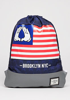 C&S WL Gymbag BK Salute navy/grey/mc
