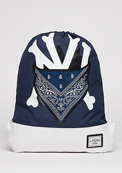 C&S WL Gymbag Grime navy/grey/white