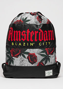 Turnbeutel GL Gymbag Amsterdam red/mc