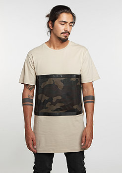T-Shirt BL Judgement Day Long sand/woodland/black