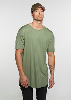 T-Shirt BL Drop Scallop olive/black