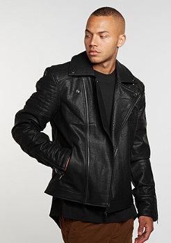 C&S Jacket BL Rebel Biker black/white