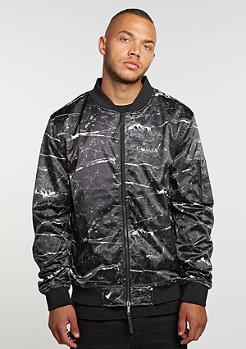 C&S Jacket WL Infintiy Bomber black marble/gold