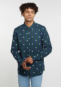 C&S BL Shirt Budz navy/green/white