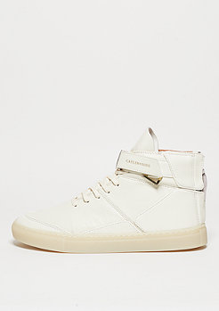 Schuh Hamachi off white/cream stingray/gold