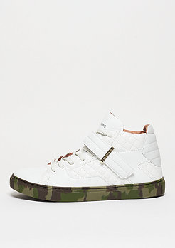 Schuh Sashimi white/woodland/gold